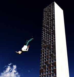 Falling Man Building